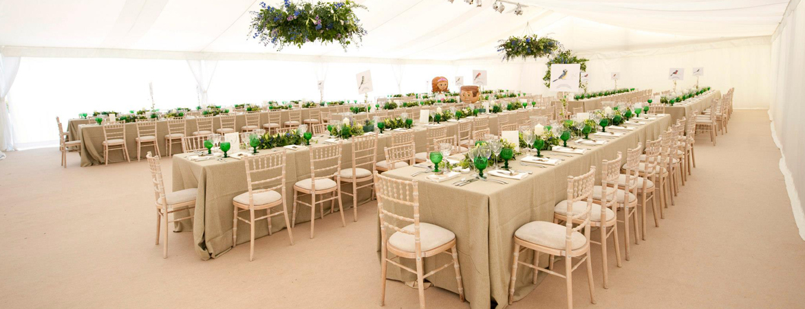 Wedding Trestle Table Hire