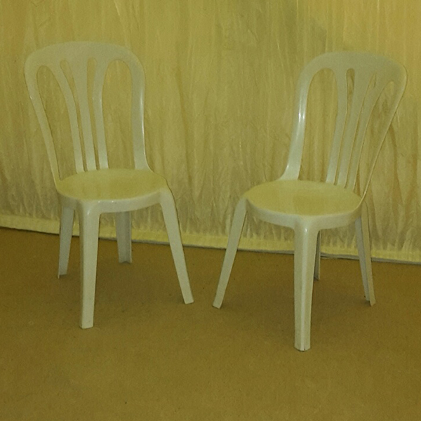 Plastic Bistro Wedding Chairs